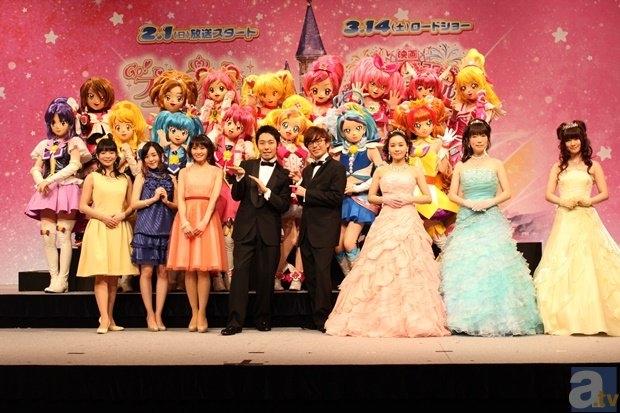 『Go!プリンセスプリキュア』『春のカーニバル』合同記者会見レポ