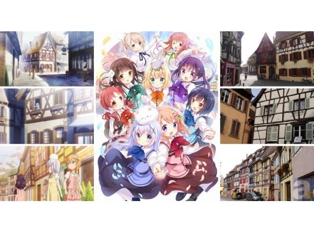 TVアニメ『ごちうさ』で巡るヨーロッパの旅【聖地巡礼】