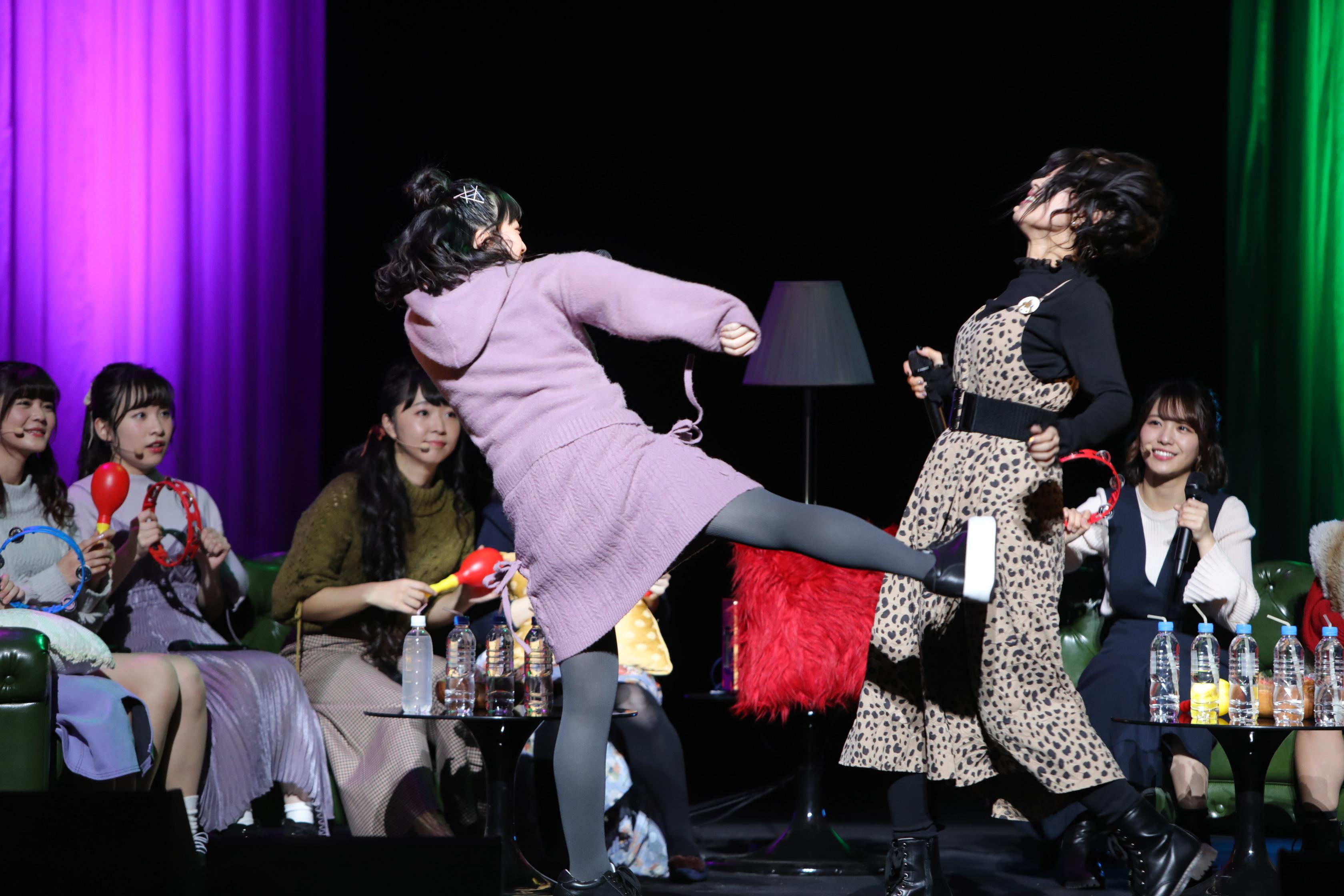 三森すずこさんが叫ぶ「We are not 芸人!」――所属する女性声優総出演の『響10周年記念 響ファン感謝祭』夜の部レポート