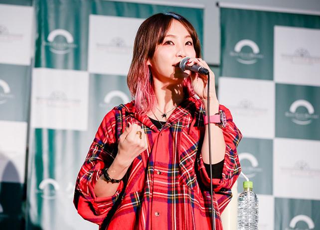 歌手・LiSAの14thシングル発売記念イベント公式レポート