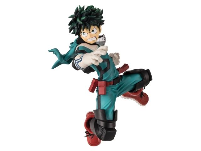 『僕のヒーローアカデミア』より、緑谷出久・爆豪勝己・轟焦凍のアクションポーズフィギュアが3か月連続で登場!
