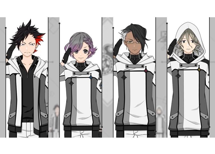 『星鳴エコーズ』第21学生塔破隊「フェニックス」のキャラクターPV公開