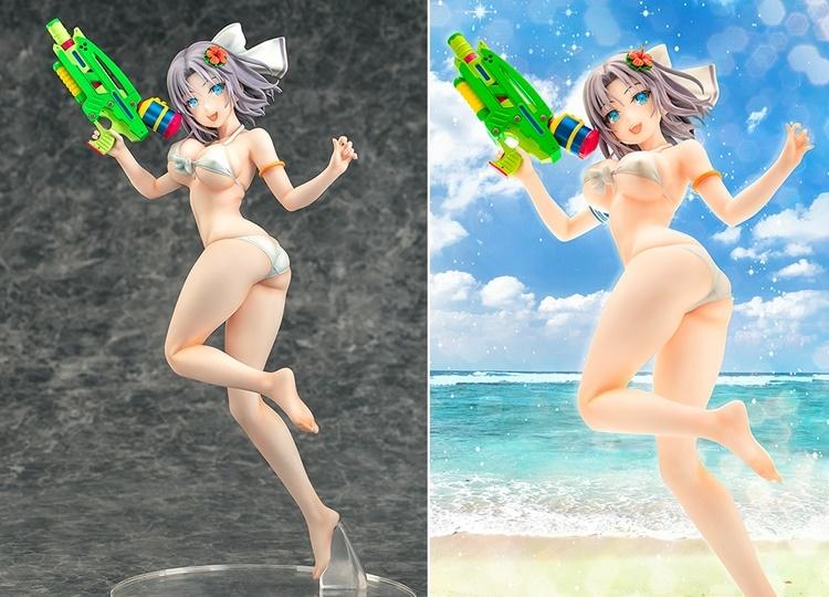 『閃乱カグラ PEACH BEACH SPLASH』雪泉がスケールフィギュアで登場