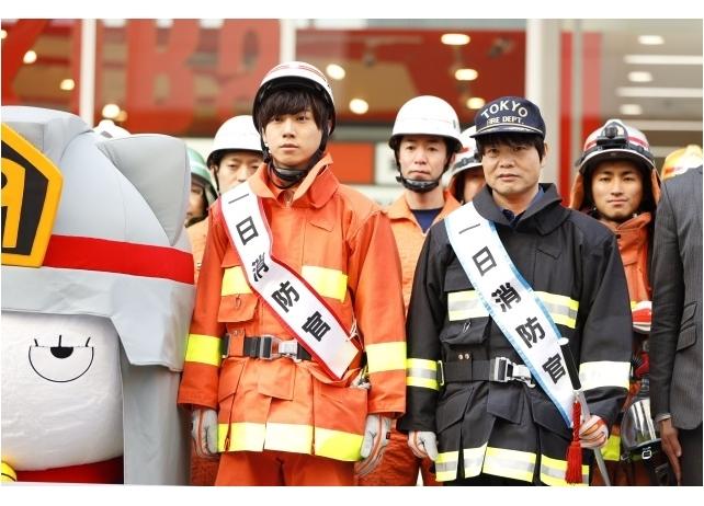 『炎炎ノ消防隊』梶原岳人&中井和哉の一日消防官イベントより公式レポート公開