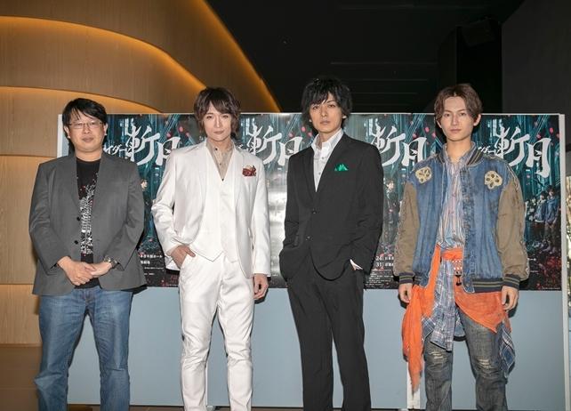 舞台『仮面ライダー斬月』より公式キャストコメントとゲネプロ写真が到着