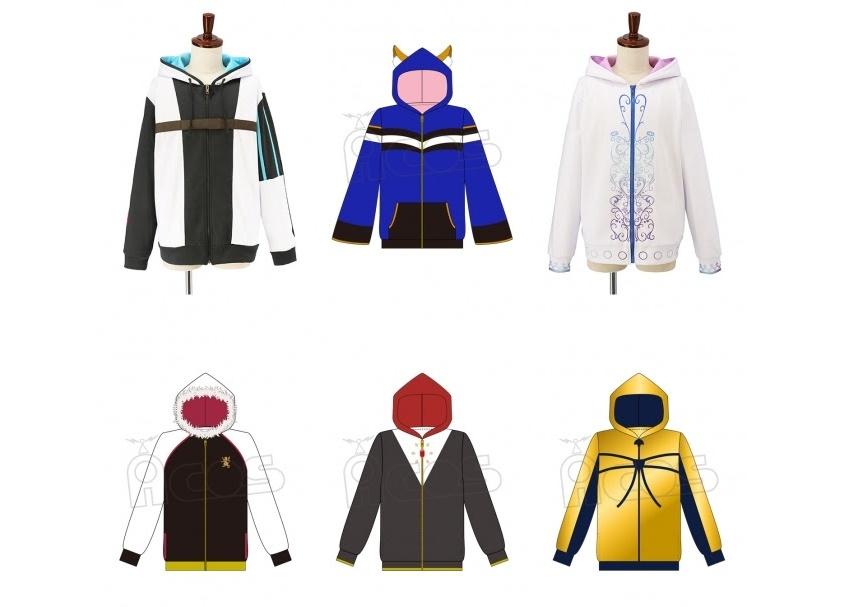 『Fate/EXTELLA LINK』サーヴァントをイメージしたパーカーが登場
