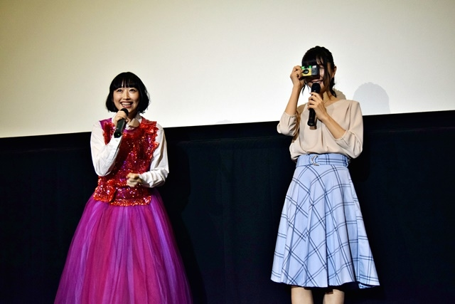 映画『君と、徒然』声優・五十嵐裕美さん・秦佐和子さんがバレンタイン&ホワイトデーに関する百合トークを展開/舞台挨拶レポート