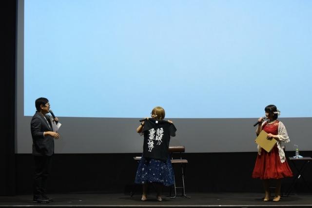 『グリザイアの迷宮』『グリザイアの楽園』のオールナイト一挙上映会が開催! たみやすともえさん、清水愛さんが登壇し、シリーズをおさらい。睡眠の大事さを訴える一幕も?