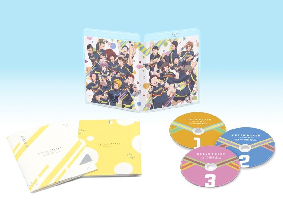 アニメ『チア男子!!』Blu-ray BOXが2019年4月26日に発売