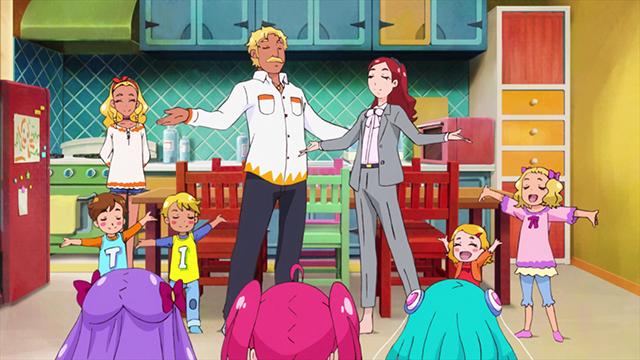 『スター☆トゥインクルプリキュア』第14話「笑顔 de パーティ!家族のソンリッサ☆」の先行カット到着!えれなの家族を演じる利根健太朗さん・高垣彩陽さんら追加声優6名のコメントも公開
