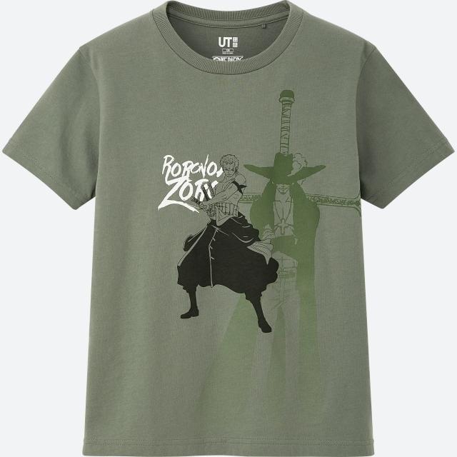 『ワンピース』の名シーンがユニクロの展開するグラフィックTシャツブランド「UT」となって登場!おなじみのキャラクターたちがデザイン!の画像-9