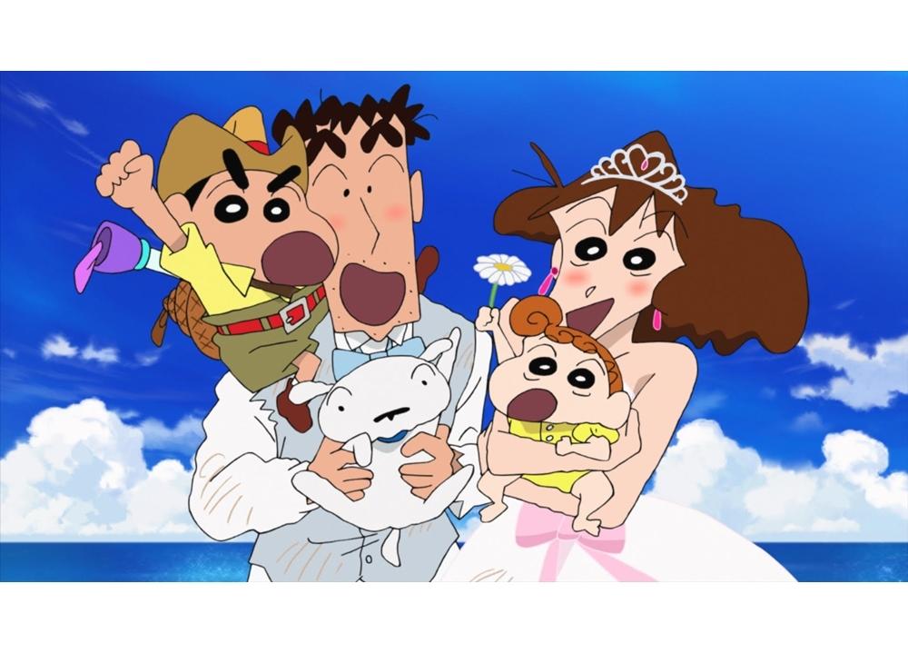 『映画クレヨンしんちゃん』野原ひろしが理想のパパランキングで3冠!