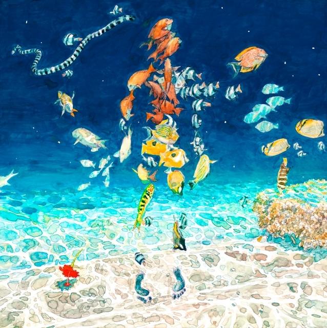 アニメ映画『海獣の子供』主題歌の米津玄師さん楽曲「海の幽霊」全編アニメーションMVが解禁!