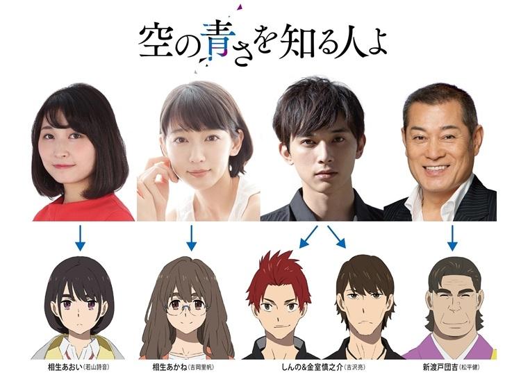 『空の青さを知る人よ』に吉沢亮、吉岡里帆、若山詩音、松平健が出演