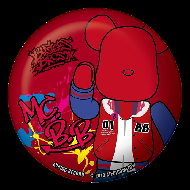 『ヒプノシスマイク -Division Rap Battle-』が「BE@RBRICK」とコラボレーション! オリジナル缶バッジとセット9月20日に発売