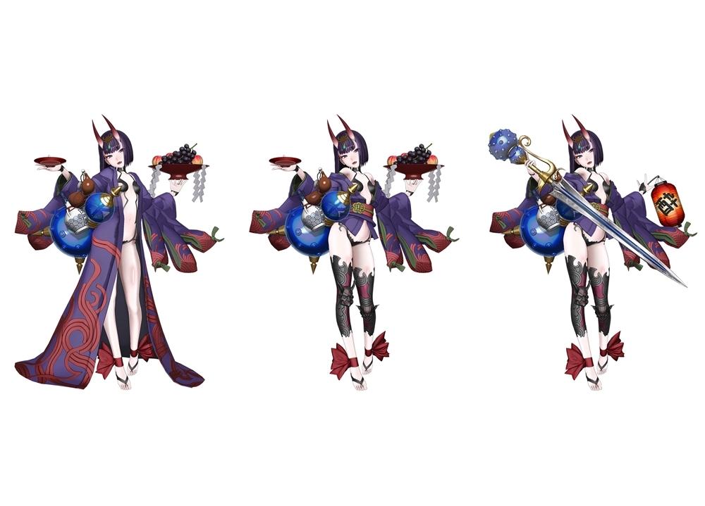 『FGO Arcade』本日より「★5(SSR)酒呑童子(アサシン)」実装!
