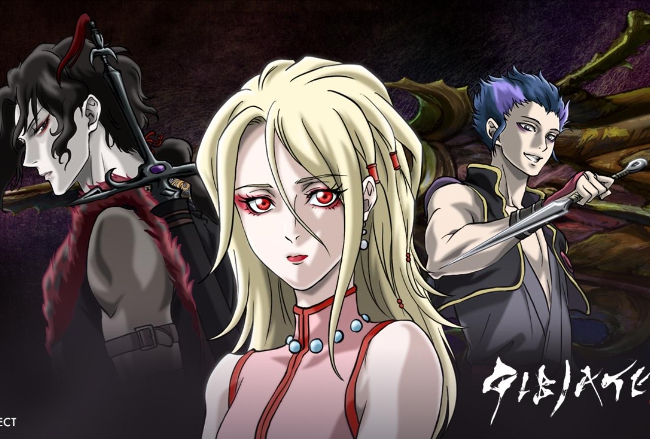 「和」がテーマの『ジビエート』が2020年にアニメ化&PV初公開!