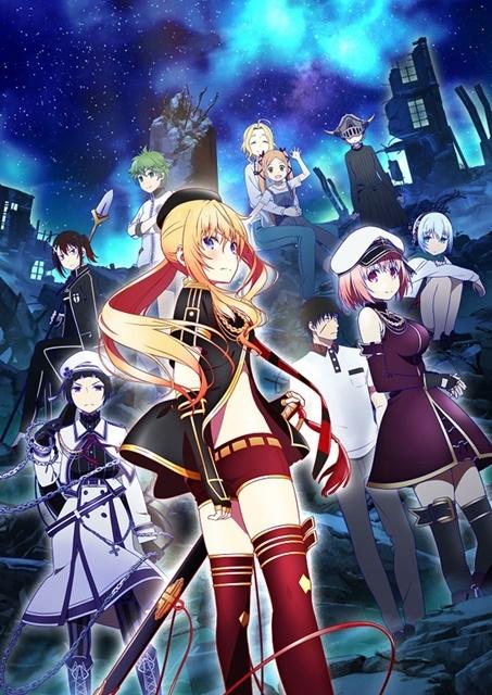 TVアニメ『戦×恋(ヴァルラヴ)』10月より放送決定! 9人姉妹の戦乙女が集合したキービジュアル&ティザーPVが公開!
