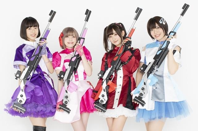 『ライフル・イズ・ビューティフル』2019年10月よりTV放送決定! 主題歌はアニメ公認アイドル「ライフリング4」が担当