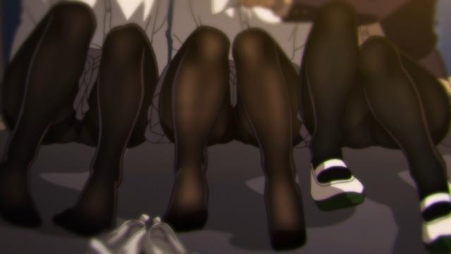 アニメ『みるタイツ』BD特典として収録される第13話「コスプレ撮影タイツ」のあらすじ・場面カット公開! ニコニコ生放送で1話~12話の一挙放送が決定!