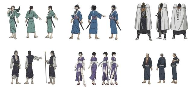 『無限の住人-IMMORTAL-』佐々木望さん・鈴木達央さんら追加声優6名解禁! それぞれが演じるキャラクターのビジュアルも公開