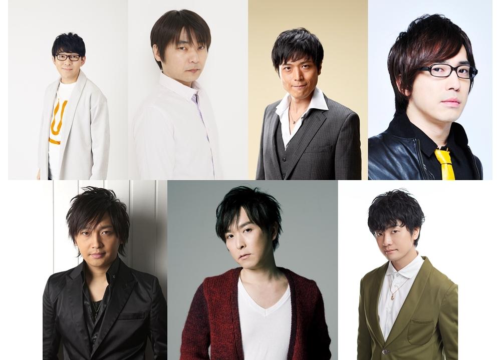 小野友樹ら人気声優7名が「偉人たちの健康診断」に出演決定