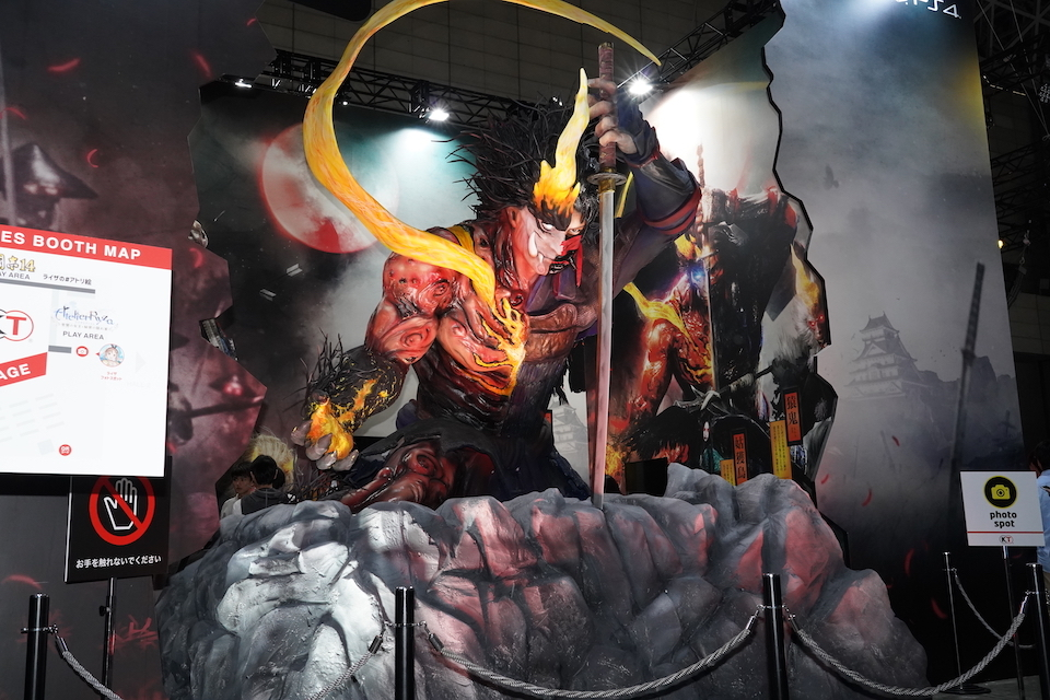 【TGS2019】『仁王』『ガンダム』『新サクラ大戦』『モンスターハンター』……最終日も見逃せないフォトスポットをご紹介!等身大フィギュア、コンパニオンは必見!