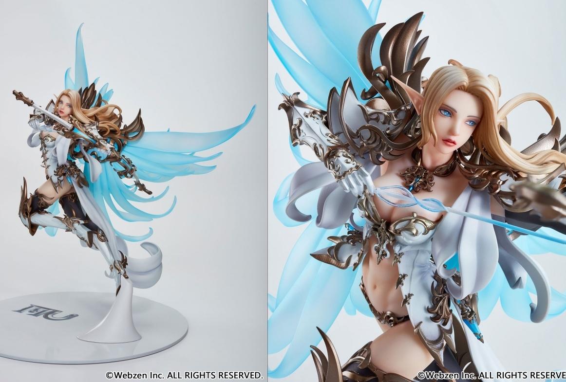 『MU』より女神の加護を受ける美しき妖精「エルフ」がフィギュア化