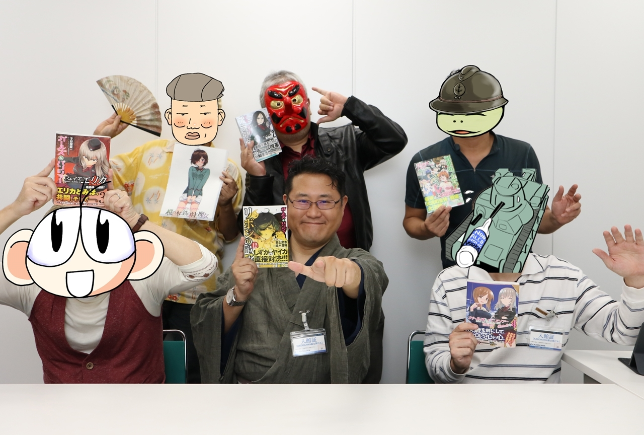 ガルパンコミック作家座談会【前編】野上武志ほか6作家が語る『最終章』第2話!