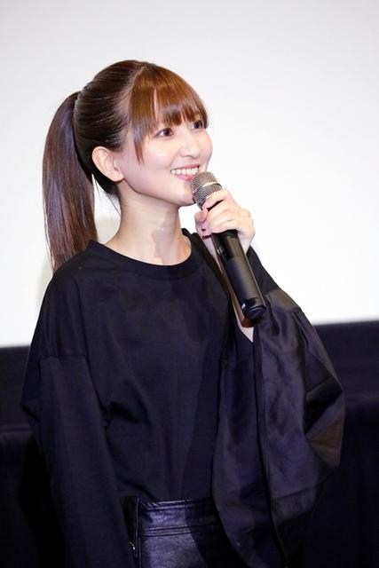 劇場アニメ『BLACKFOX』七瀬彩夏さん・戸松遥さん・大地葉さん登壇! 初日舞台挨拶でアフレコやオーディションの思い出を語る-3