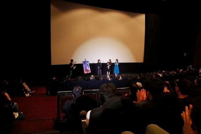 劇場アニメ『BLACKFOX』七瀬彩夏さん・戸松遥さん・大地葉さん登壇! 初日舞台挨拶でアフレコやオーディションの思い出を語る-8