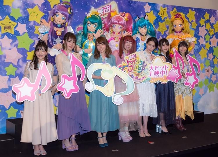 『映画 スター☆トゥインクルプリキュア 星のうたに想いをこめて』初日舞台挨拶レポ