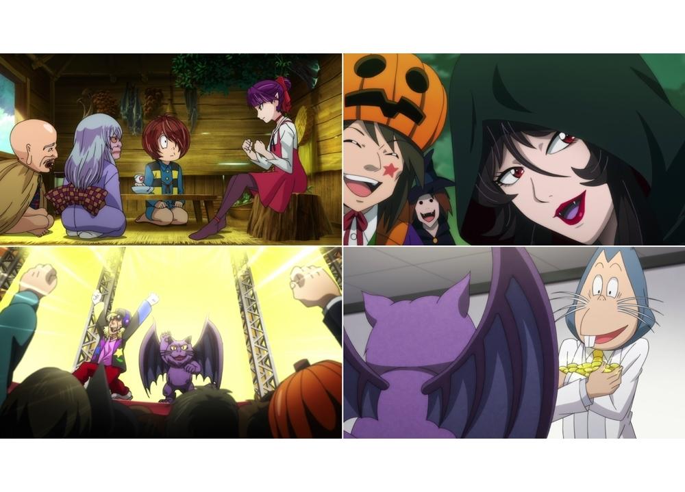 『ゲゲゲの鬼太郎』第79話「こうもり猫のハロウィン大爆発」より先行カット到着!