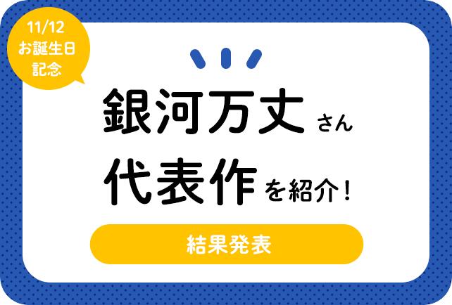 声優・銀河万丈さん、アニメキャラクター代表作まとめ(2019年版)