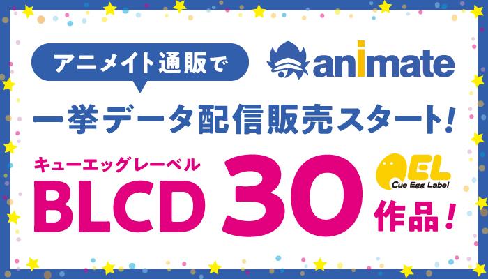「だかいち」などキューエッグの人気BLドラマCD30作品が【アニメイト通販】で一挙データ販売開始!!