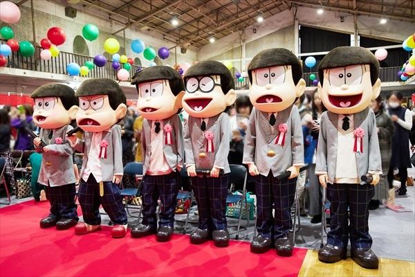 劇場版『えいがのおそ松さん』BD&DVD発売記念イベント公式レポ到着