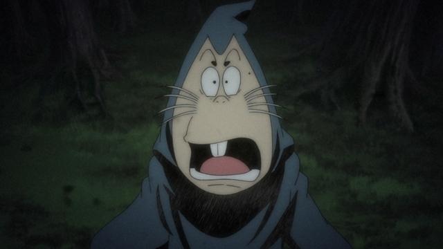 『ゲゲゲの鬼太郎』第85話「巨人ダイダラボッチ」より先行カット到着! ダイダラボッチを専門に研究している門倉という男性に出会い……-2