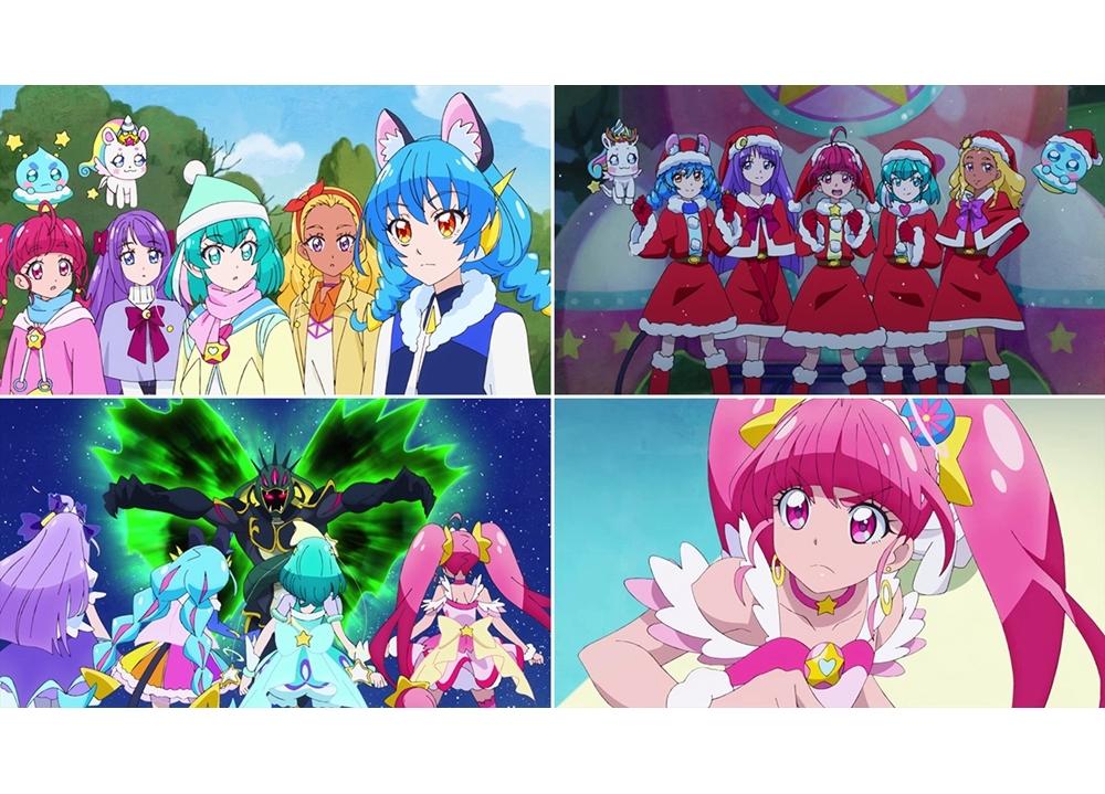 『スタプリ』第44話「サプラ~イズ☆サンタさんは宇宙人!?」より先行カット到着!