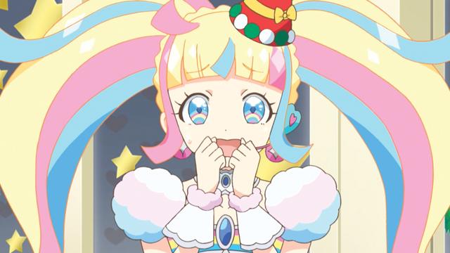 TVアニメ『キラッとプリ☆チャン』第89話先行場面カット・あらすじ到着!ジュエルオーディションの秘密を隠し続ける虹ノ咲さんはクリスマスの配信で、ついに意を決して……