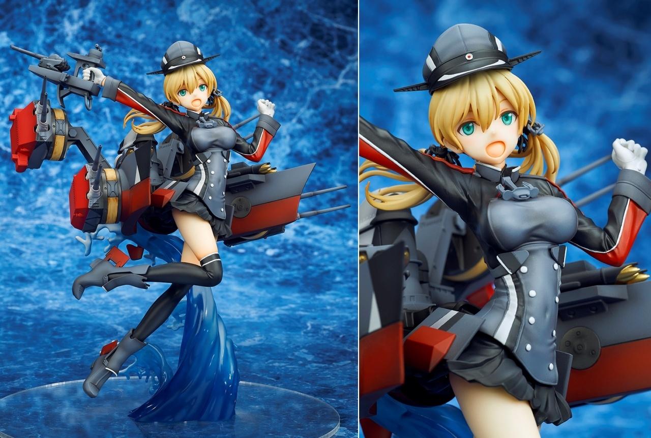 『艦これ』の重巡洋艦「Prinz Eugen(プリンツ・オイゲン)」がフィギュア化!