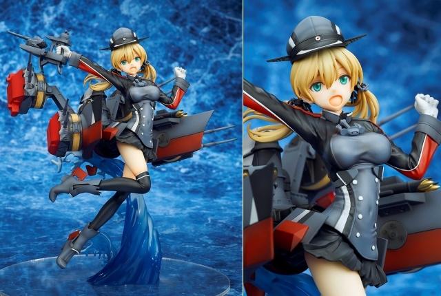 大人気ブラウザゲーム『艦隊これくしょん -艦これ-』より、重巡洋艦「Prinz Eugen(プリンツ・オイゲン)」がフィギュア化! このクオリティ……ダンケダンケ♪【今なら18%OFF!】の画像-1