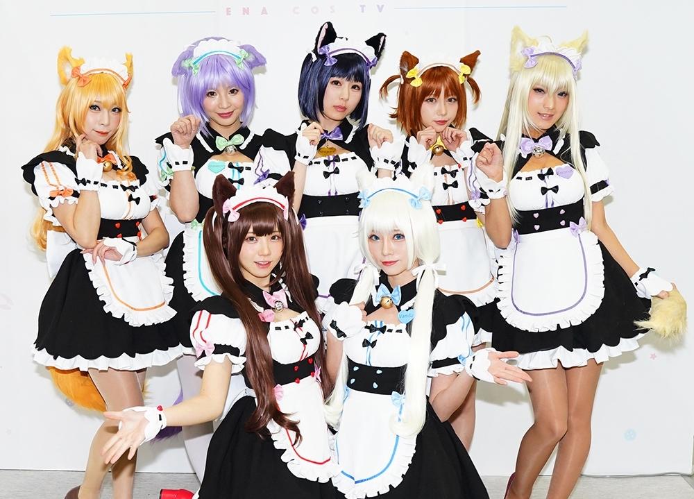 『えなコスTV』×『ネコぱら』のコラボ撮影会がC97で開催!