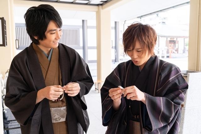 声優・坂泰斗さんと小松昌平さんが和服姿で『星鳴エコーズ』ゲームアプリリリース&WEBラジオ2期のヒット祈願へ! これからの展開が気になる2人のインタビューもお届け♩