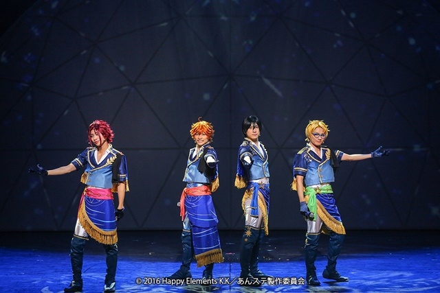 『あんさんぶるスターズ!エクストラ・ステージ』~Night of Blossoming Stars~東京公演開幕前キャストコメント&公演写真が公開