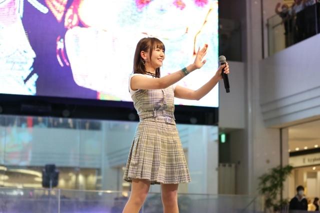 声優・和氣あず未さん、1stシングル発売記念イベントレポート|アーティストデビュー作となる「ふわっと/シトラス」を熱唱!