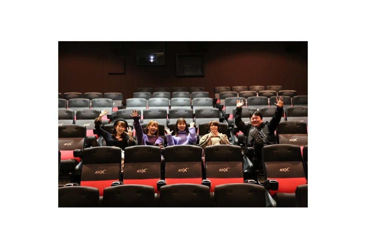 劇場版『はいふり』夏川椎菜、Lynnら声優陣が4DXを体験