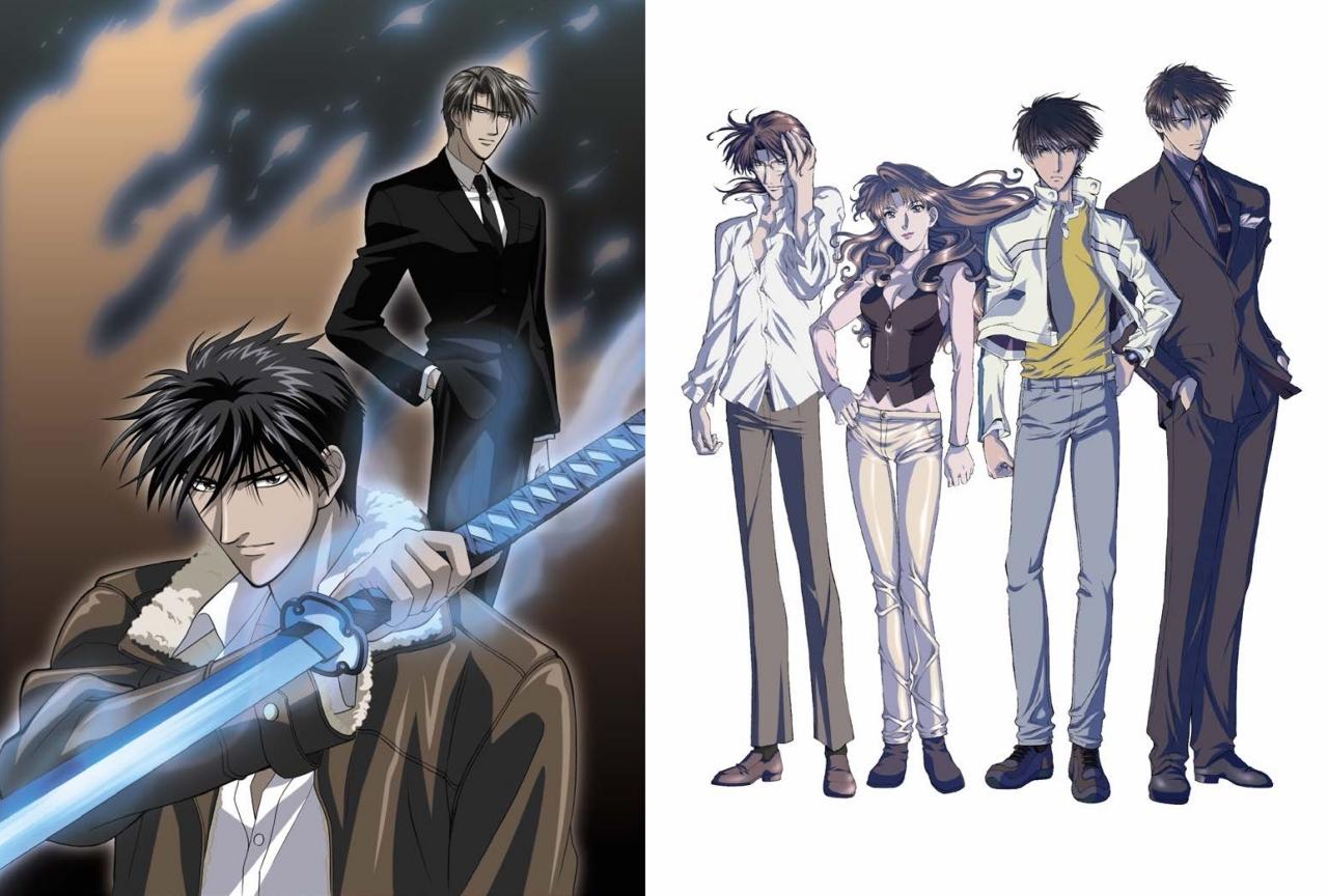 『炎の蜃気楼』TV・OVAシリーズ全16話を完全収録したBD BOXが発売!