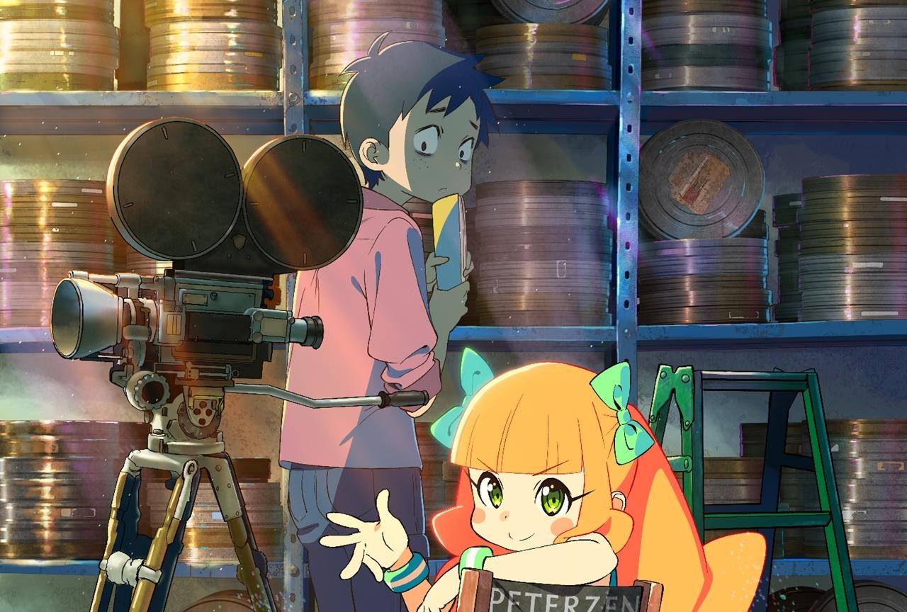 劇場アニメ『映画大好きポンポさん』2020年公開
