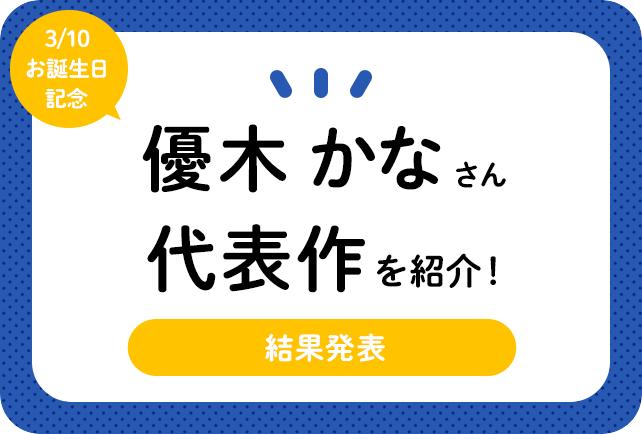 声優・優木かなさん、アニメキャラクター代表作まとめ(2020年版)