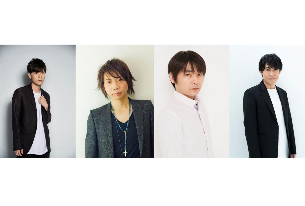 『MARS RED』2021年TVアニメ化!畠中祐、諏訪部順一、石田彰、鈴村健一 出演
